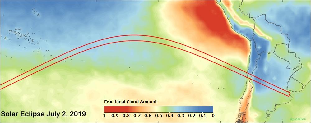 オエノ島皆既日食の概要 (UTC-8)